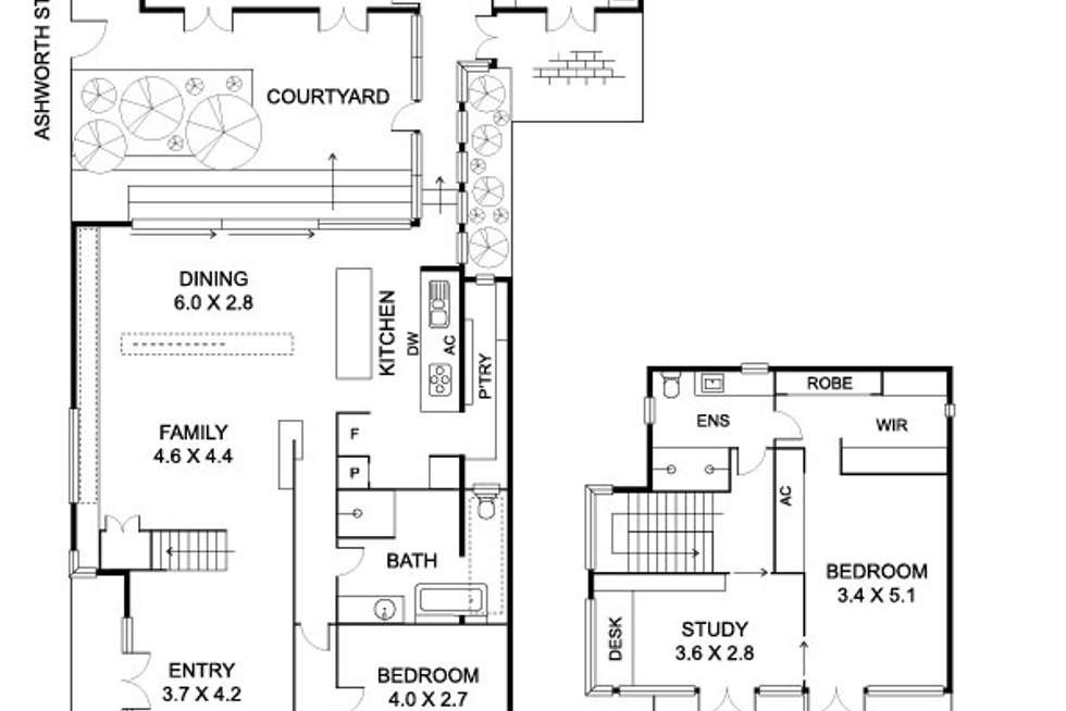 Floorplan of Homely house listing, 119 Harold Street, Middle Park VIC 3206