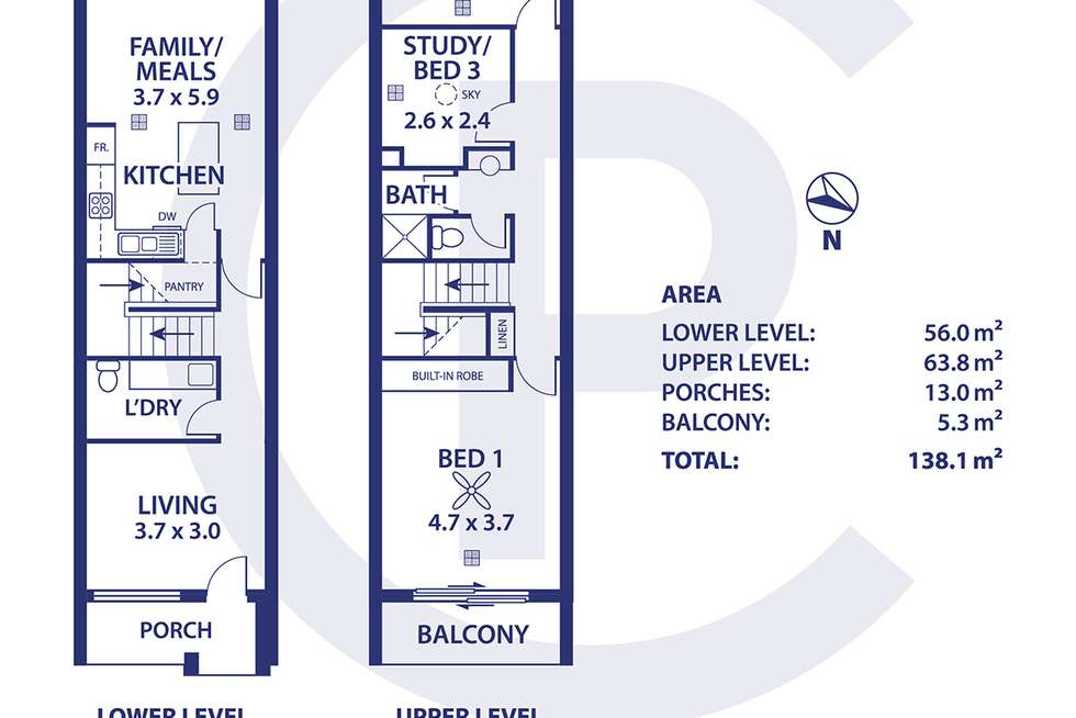 Floorplan of Homely house listing, 6a Albert Place, Mount Barker SA 5251