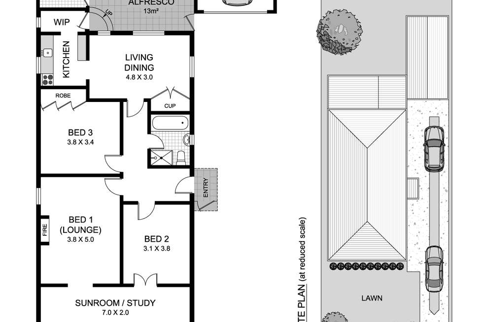 Floorplan of Homely house listing, 25 Seymour Parade, Belfield NSW 2191