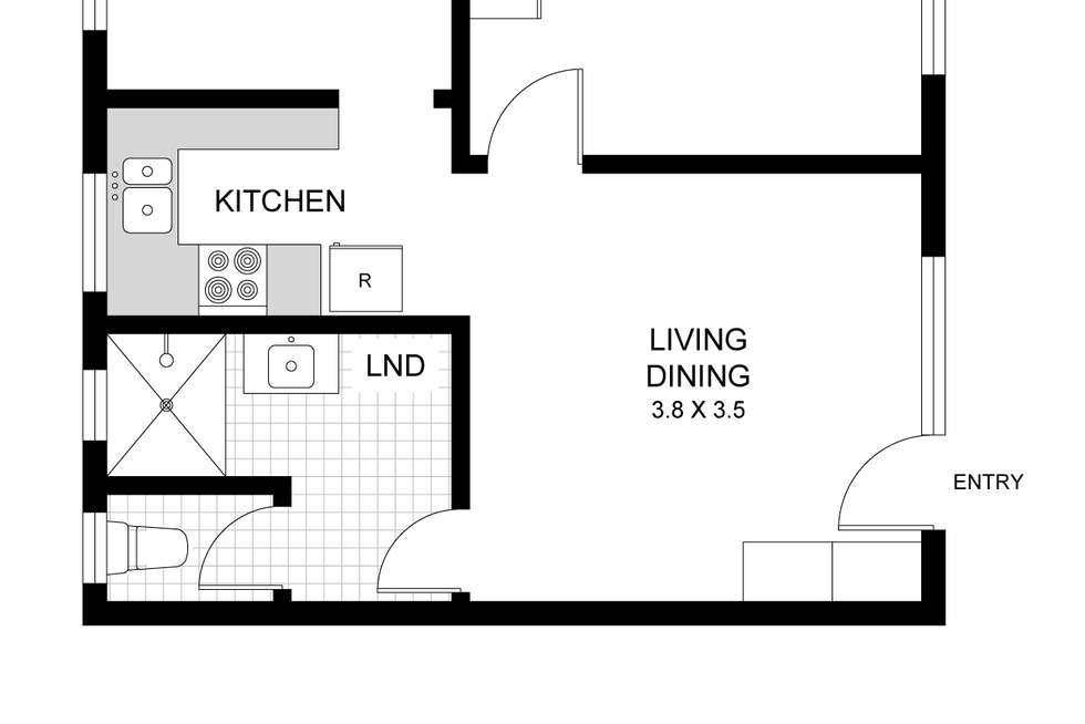 Floorplan of Homely apartment listing, 8/137 Smith Street, Summer Hill NSW 2130