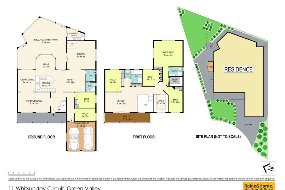 Floorplan of Homely house listing, 11 Whitsunday Circuit, Green Valley NSW 2168