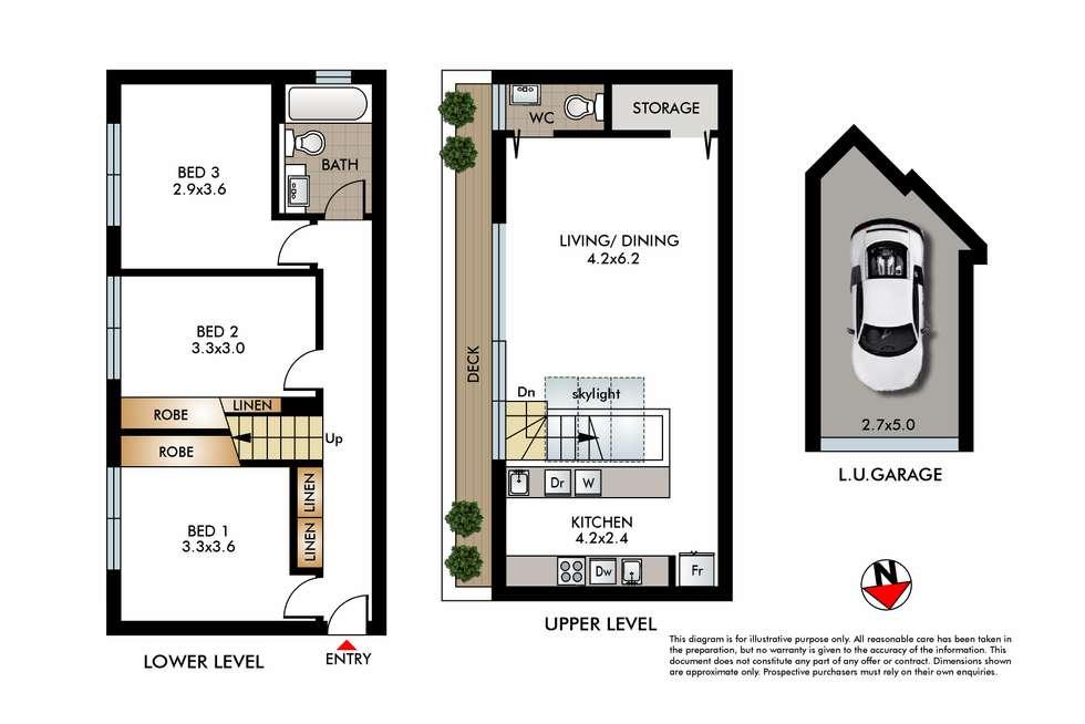 Floorplan of Homely apartment listing, 4/52 Edward Street, Bondi NSW 2026