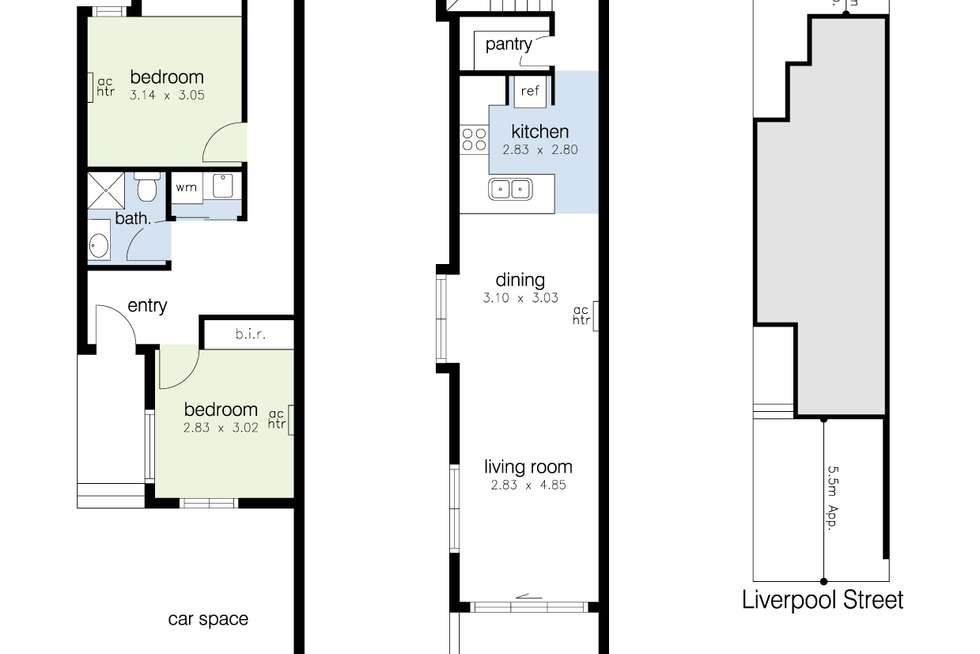 Floorplan of Homely house listing, 7A Liverpool Street, Footscray VIC 3011