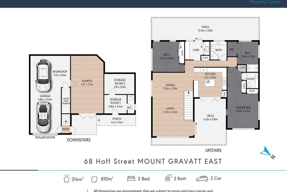 Floorplan of Homely house listing, 68 Hoff Street, Mount Gravatt East QLD 4122
