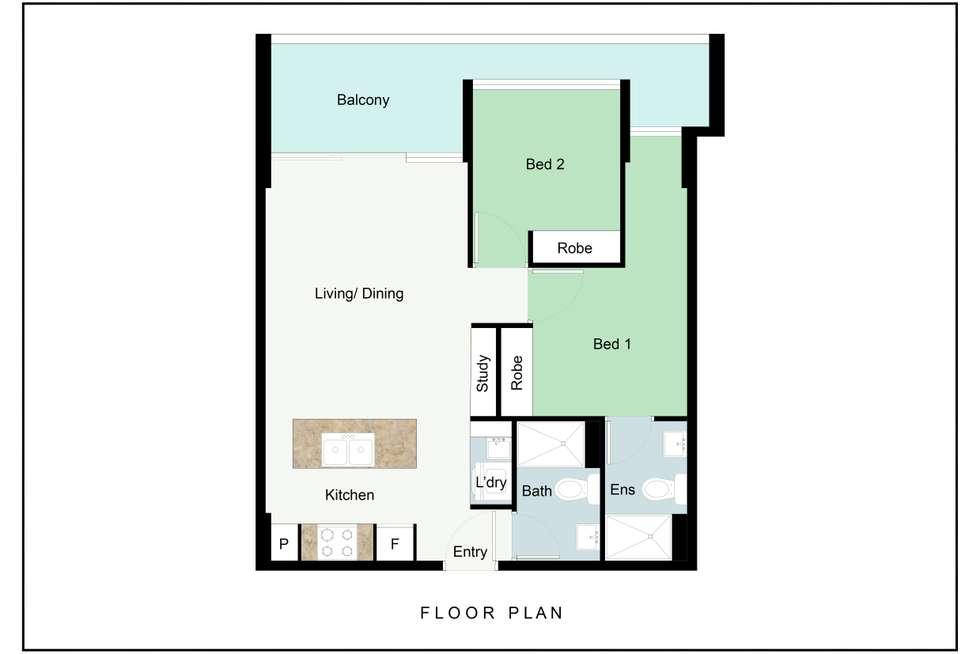 Floorplan of Homely house listing, 1606/1 Ian Keilar Drive, Springfield Lakes QLD 4300