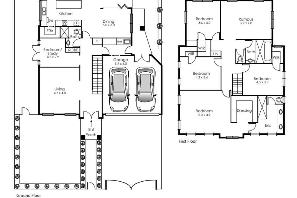 Floorplan of Homely house listing, 29A Sixth Street, Parkdale VIC 3195