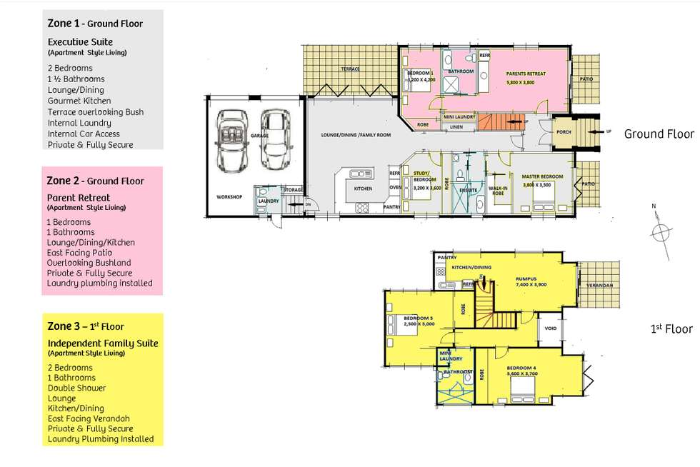 Floorplan of Homely house listing, 112 Budgewoi Road, Noraville NSW 2263