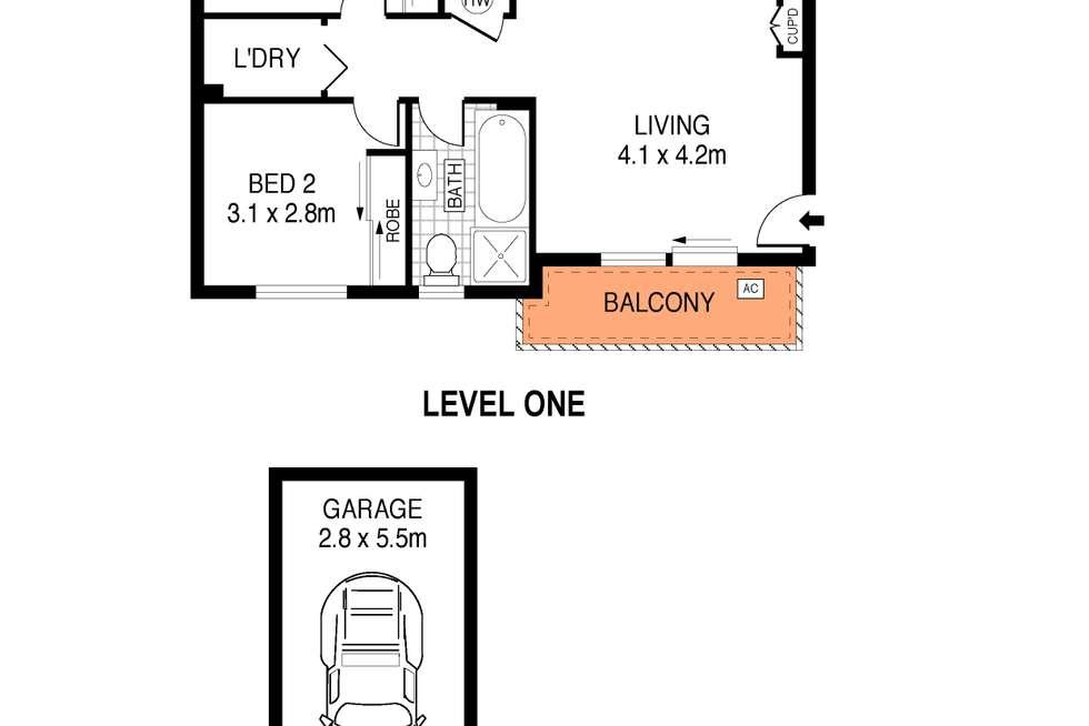 Floorplan of Homely apartment listing, 5/173-175 Glenayr Avenue, Bondi Beach NSW 2026