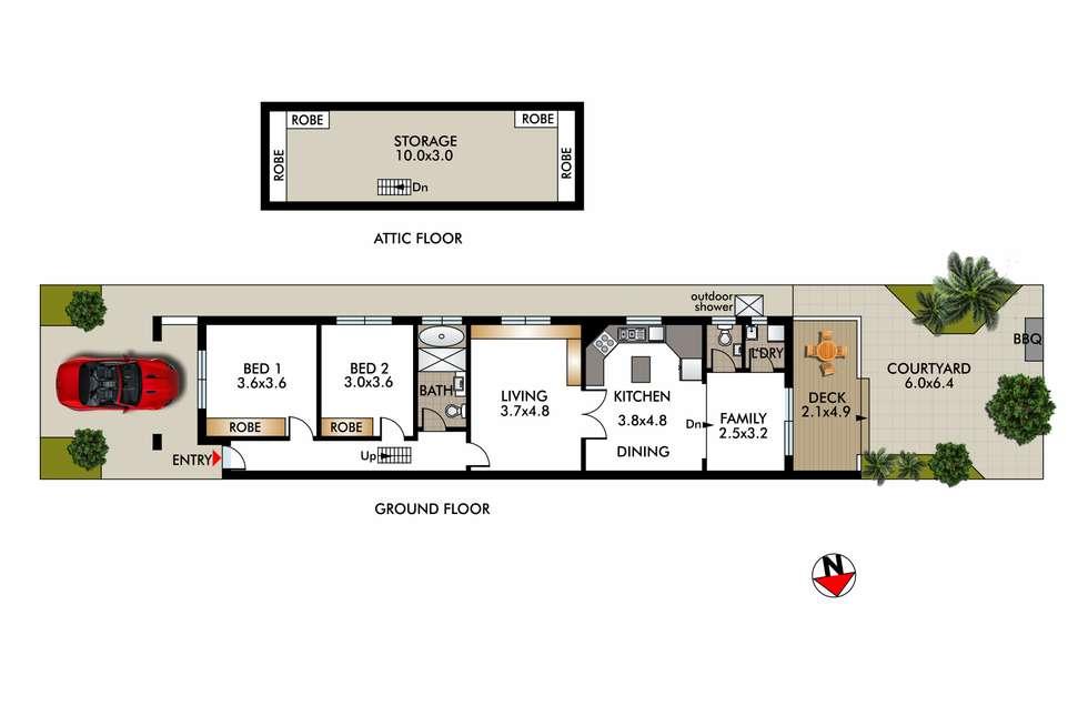 Floorplan of Homely house listing, 21A Glenayr Avenue, North Bondi NSW 2026