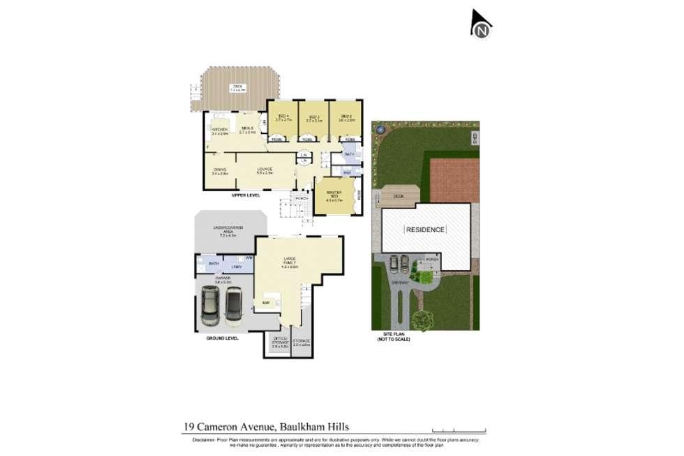 Floorplan of Homely house listing, 19 Cameron Avenue, Baulkham Hills NSW 2153