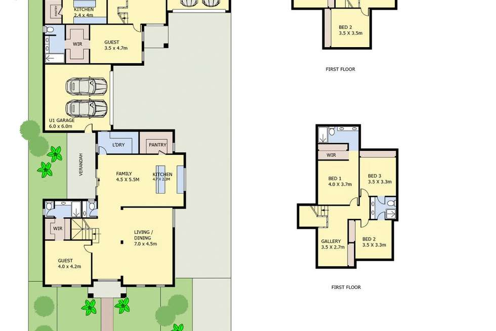 Floorplan of Homely house listing, 16 Knell Street, Mulgrave VIC 3170