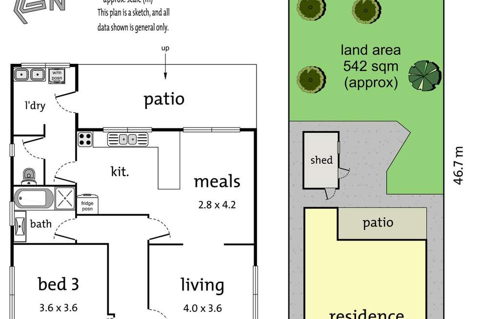 Floorplan of Homely house listing, 44 Andrew Street, Northcote VIC 3070