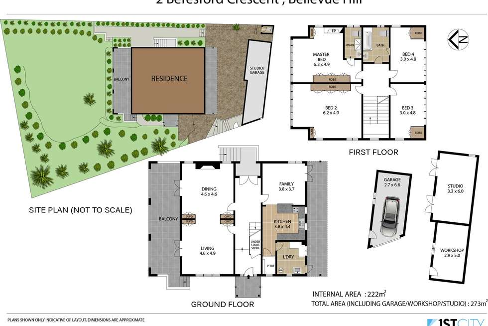 Floorplan of Homely house listing, 2 Beresford Crescent, Bellevue Hill NSW 2023