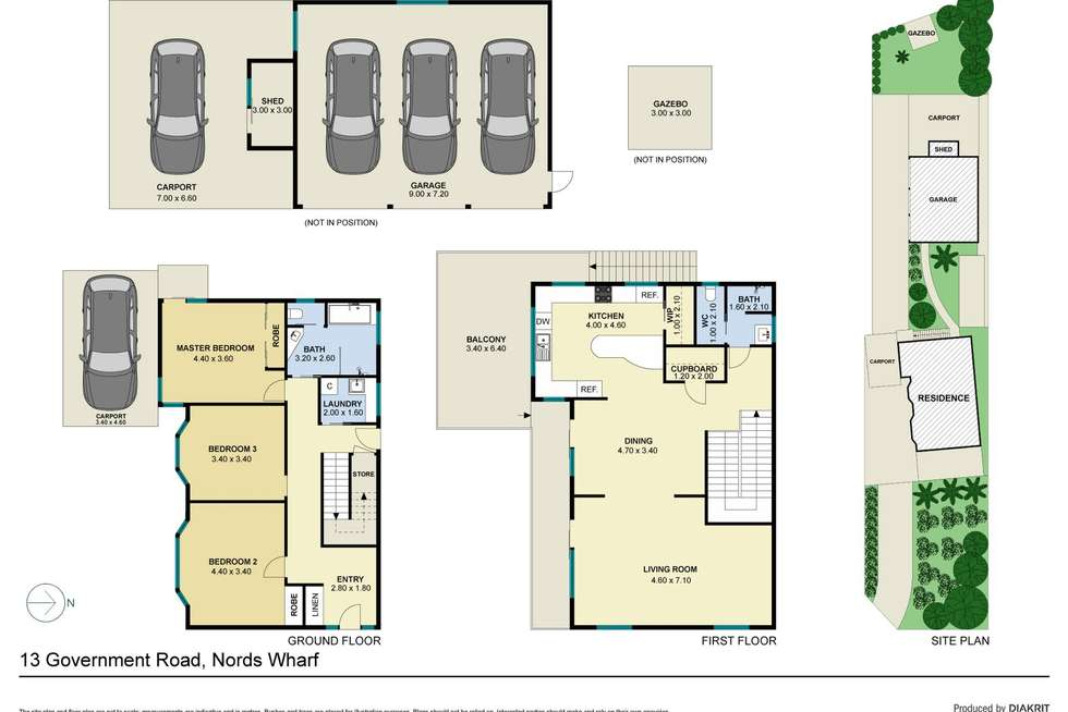 Floorplan of Homely house listing, 13 Government Road, Nords Wharf NSW 2281