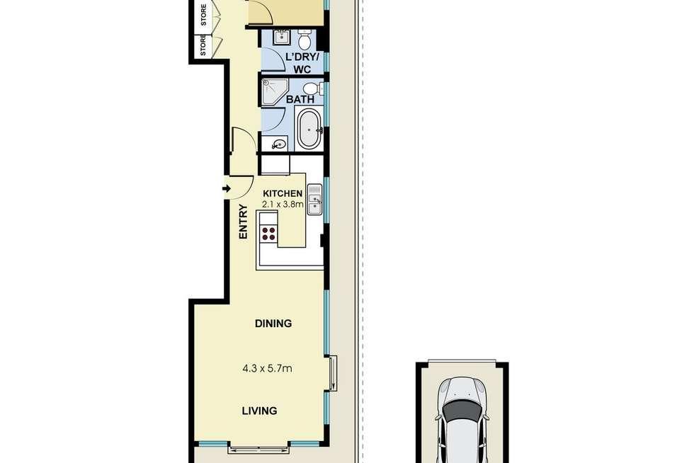 Floorplan of Homely unit listing, 17/69 Evans Street, Freshwater NSW 2096