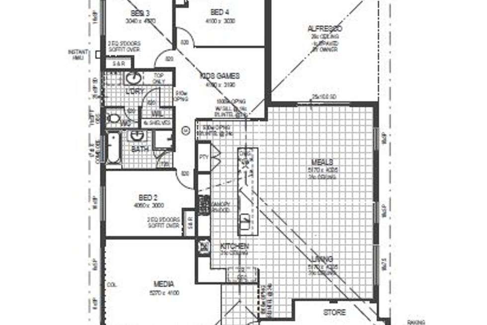 Floorplan of Homely house listing, 18 Cape Way, Dunsborough WA 6281