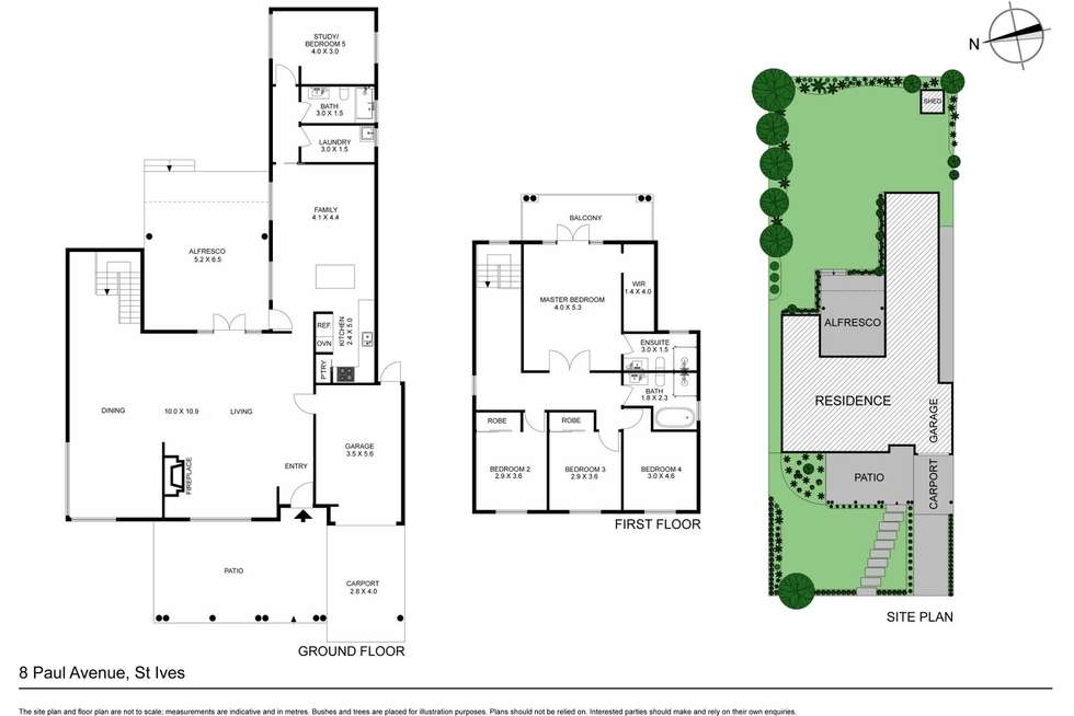 Floorplan of Homely house listing, 8 Paul Avenue, St Ives NSW 2075