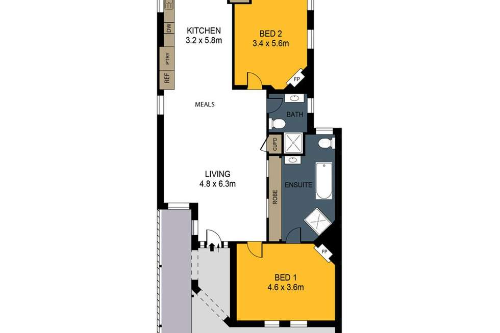Floorplan of Homely house listing, 101 Queen Street, Bendigo VIC 3550