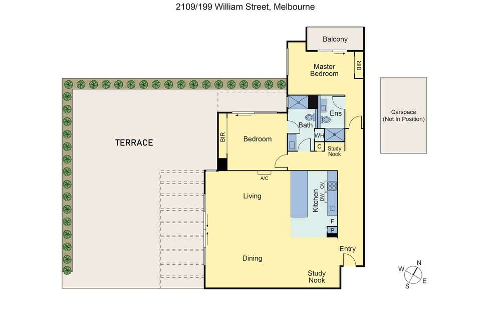 Floorplan of Homely apartment listing, Penthouse/199 William Street, Melbourne VIC 3000