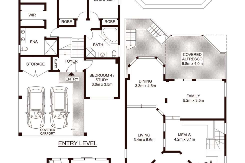Floorplan of Homely house listing, 17 Baliga Avenue, Caringbah South NSW 2229