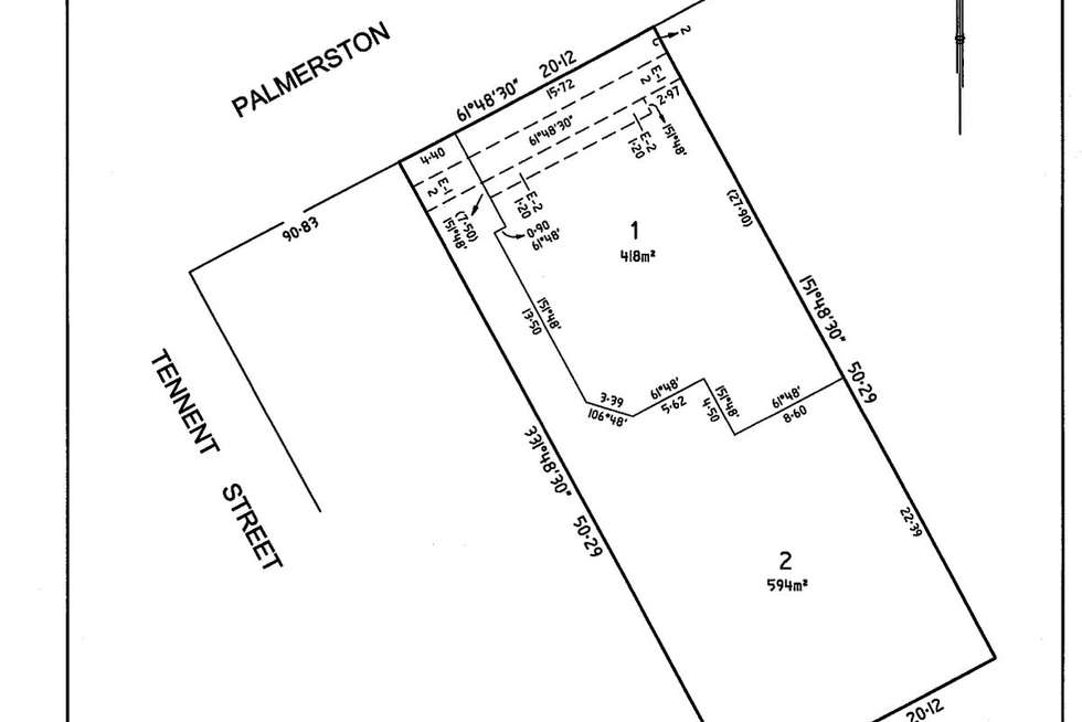 Floorplan of Homely residentialLand listing, Lot 1 & 2/199 Palmerston Avenue, Dromana VIC 3936