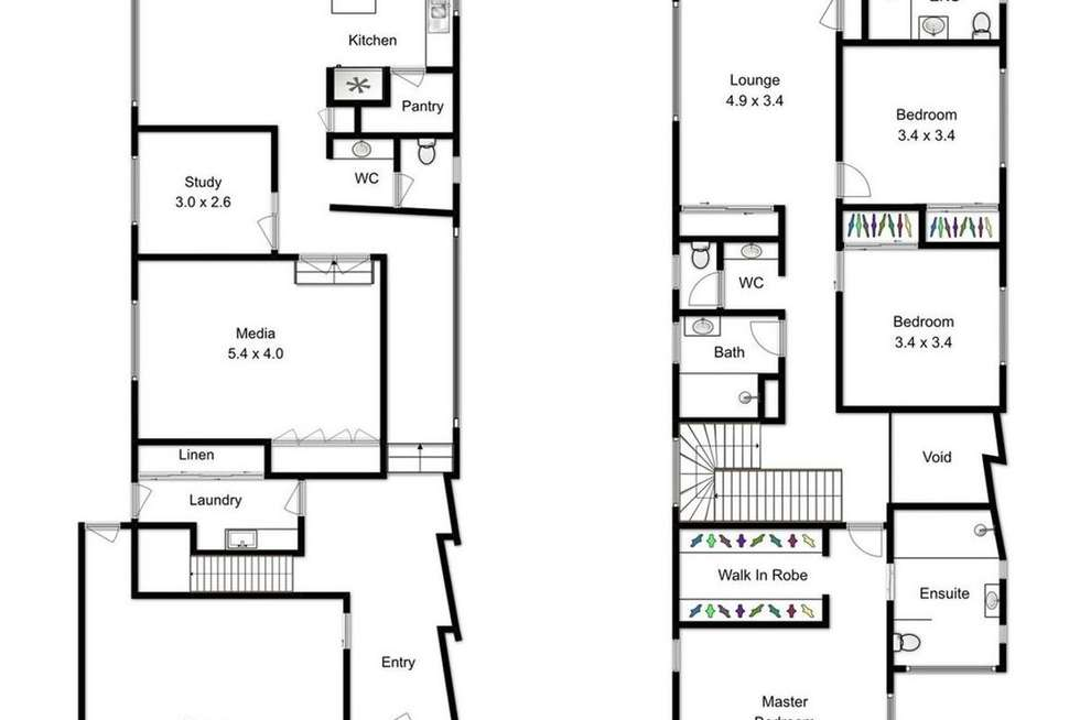 Floorplan of Homely house listing, 20 Thompson Street, Bulimba QLD 4171