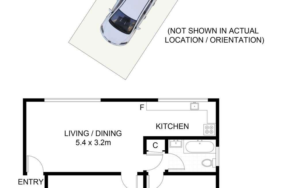 Floorplan of Homely apartment listing, 1/87 Elouera Road, Cronulla NSW 2230