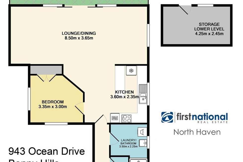 Floorplan of Homely house listing, 943 Ocean Drive, Bonny Hills NSW 2445