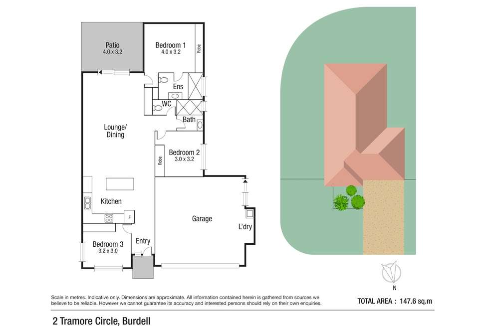 Floorplan of Homely house listing, 2 Tramore Circle, Burdell QLD 4818
