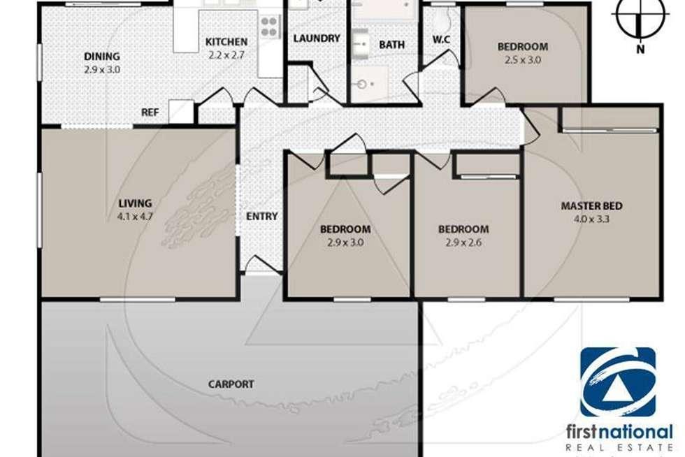 Floorplan of Homely house listing, 12 Downham Way, Wyndham Vale VIC 3024
