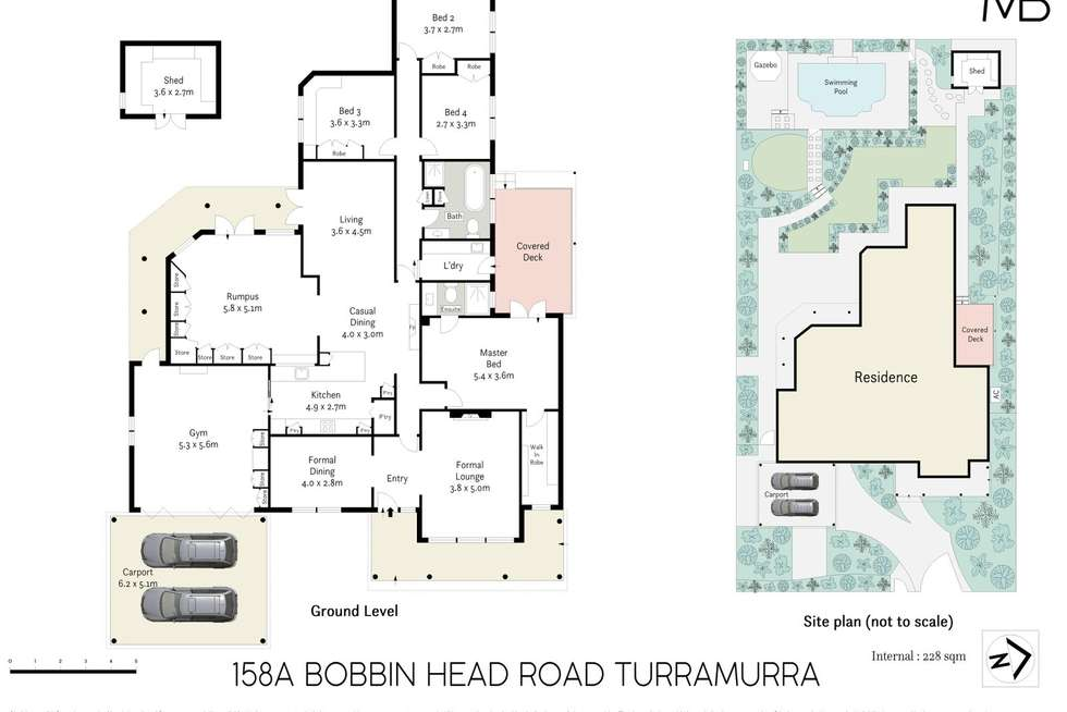 Floorplan of Homely house listing, 158A Bobbin Head Road, Turramurra NSW 2074