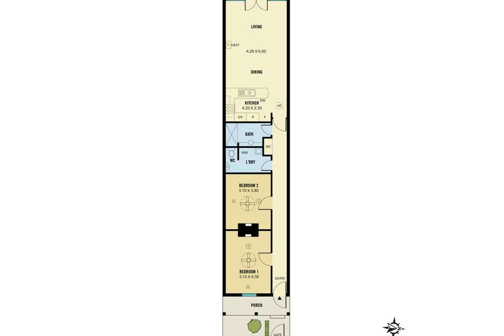 Floorplan of Homely house listing, 17 Wright Court, Adelaide SA 5000