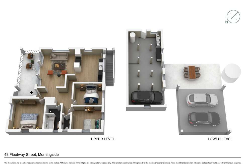 Floorplan of Homely house listing, 43 Fleetway Street, Morningside QLD 4170