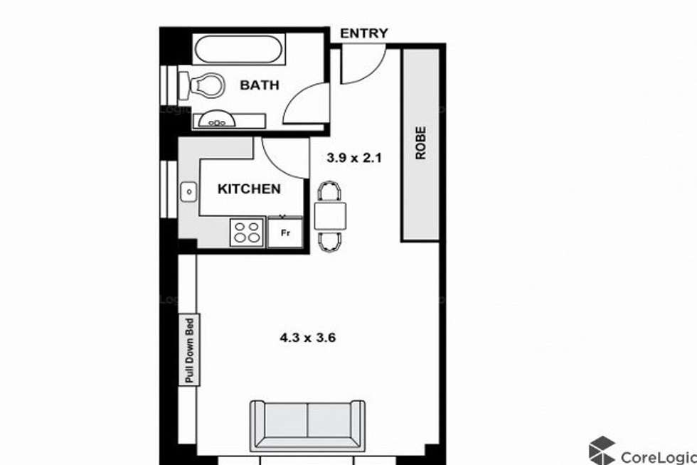 Floorplan of Homely apartment listing, 27/49-51 Cook Road, Centennial Park NSW 2021