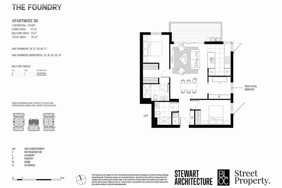 Floorplan of Homely apartment listing, 302/59 Date Street, Adamstown NSW 2289