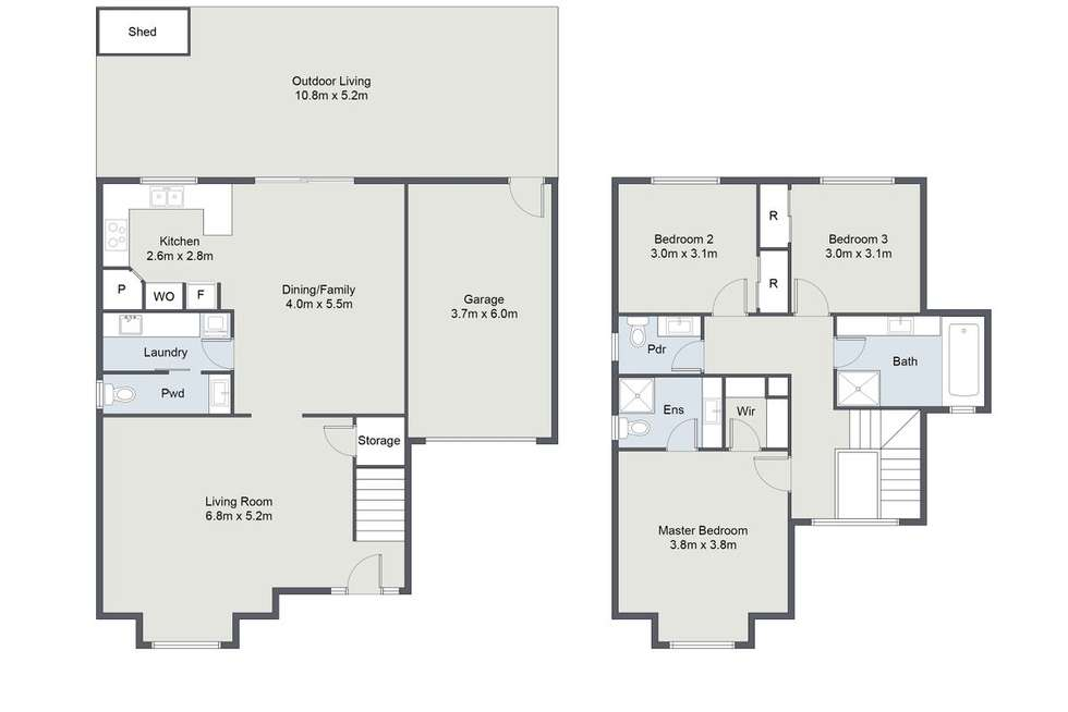 Floorplan of Homely townhouse listing, 3/604 Burwood Highway, Vermont South VIC 3133