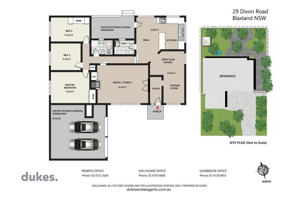 Floorplan of Homely house listing, 29 Dixon Road, Blaxland NSW 2774