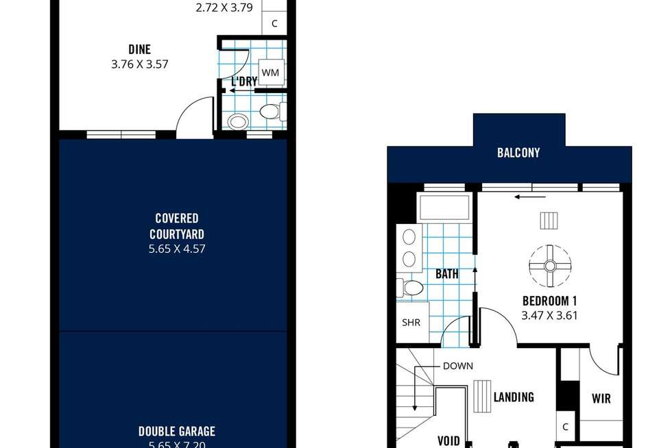 Floorplan of Homely house listing, 131 One and All Drive, North Haven SA 5018