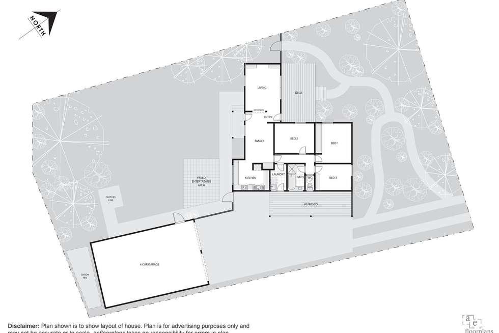 Floorplan of Homely house listing, 3 Edlington Street, Fraser ACT 2615
