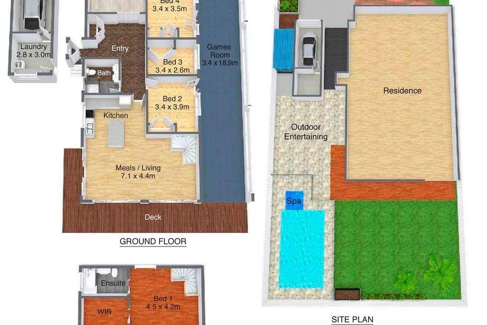 Floorplan of Homely house listing, 111 Prince Charles Road, Belrose NSW 2085