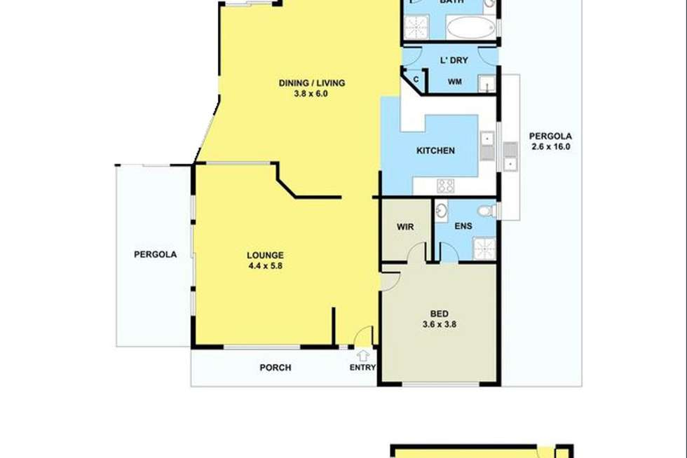 Floorplan of Homely house listing, 17 Thistle Court, Delahey VIC 3037