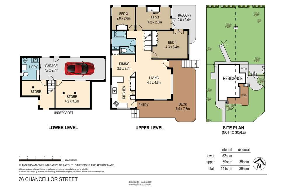 Floorplan of Homely house listing, 76 Chancellor Street, Sherwood QLD 4075