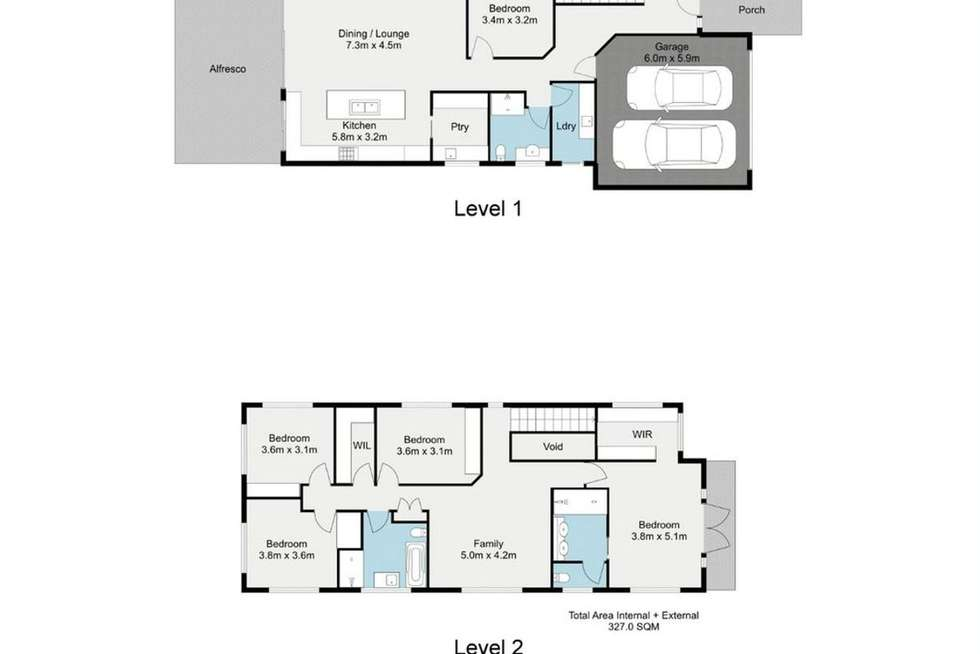 Floorplan of Homely house listing, 57 Magee Street, Graceville QLD 4075