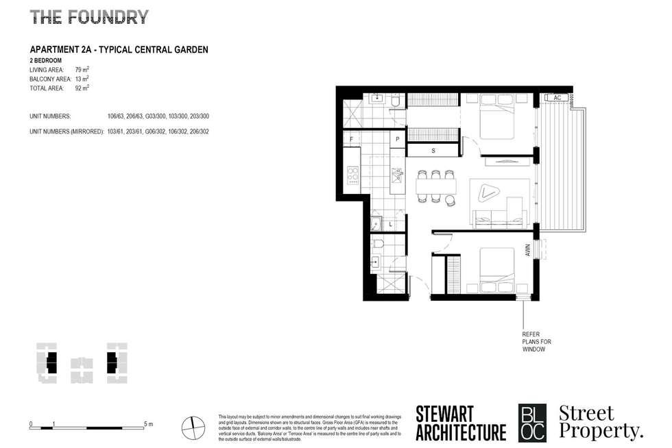 Floorplan of Homely apartment listing, 103/61 Date Street, Adamstown NSW 2289