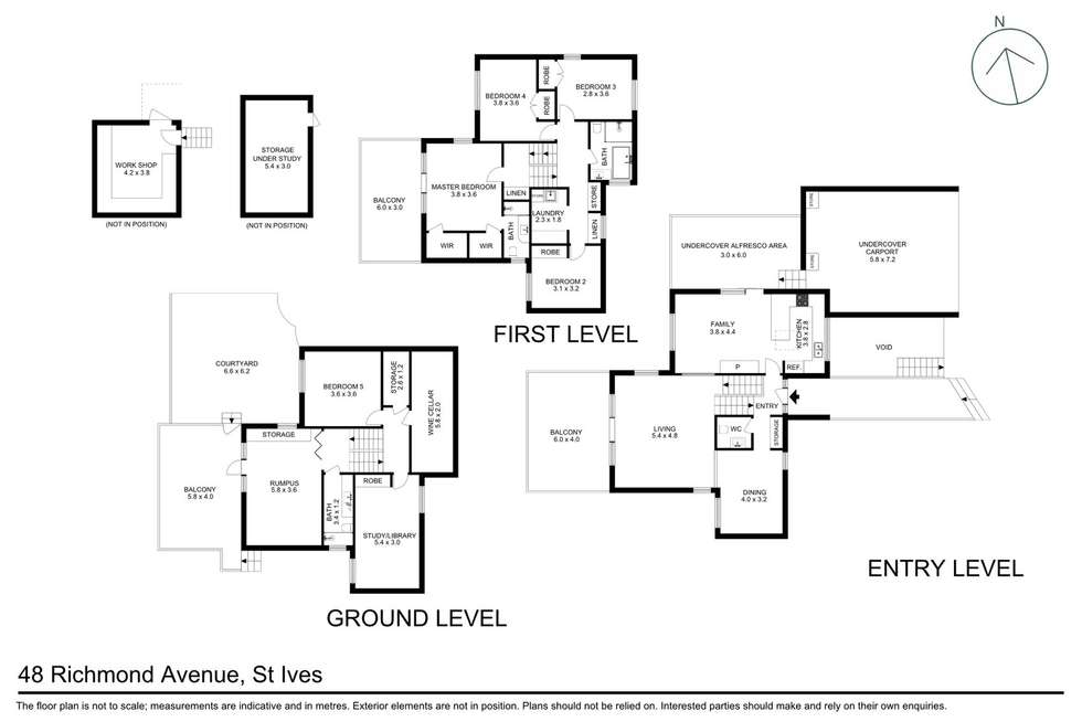 Floorplan of Homely house listing, 48 Richmond Avenue, St Ives NSW 2075