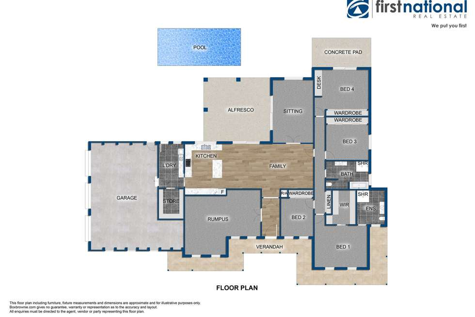 Floorplan of Homely house listing, 41 Ridgeview Close, White Rock NSW 2795