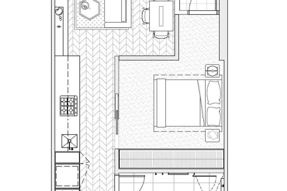 Floorplan of Homely apartment listing, 201/3 Tarver Street, Port Melbourne VIC 3207