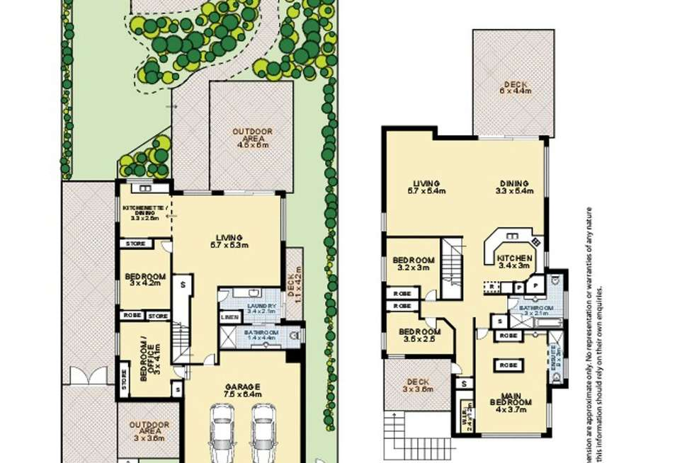 Floorplan of Homely house listing, 124 Central Avenue, Sherwood QLD 4075