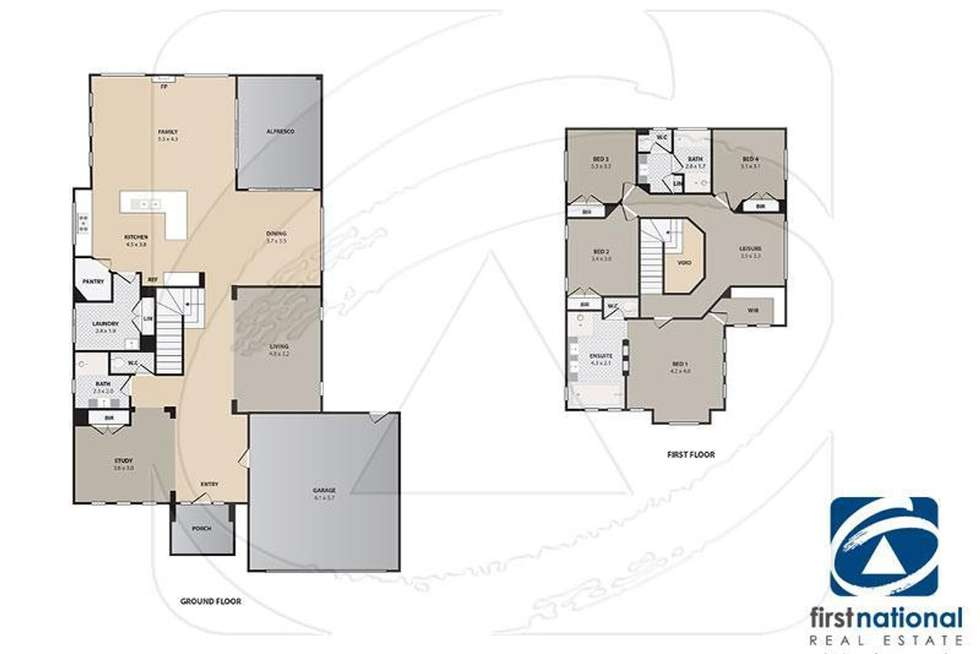 Floorplan of Homely house listing, 20 Chesterton Avenue, Tarneit VIC 3029