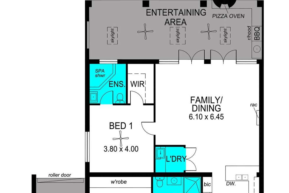 Floorplan of Homely house listing, 24 Glen Eira Street, Woodville South SA 5011